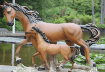 Decorative Resin Animal Statues