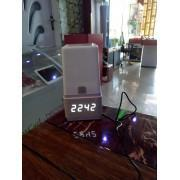 Led Table Lamp & Clock