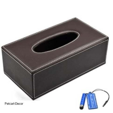 Pure Leather Tissue Box