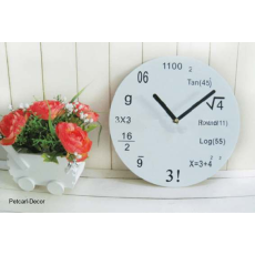 Trendy School Wall Clock