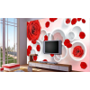 Rose Flower Wall Mural