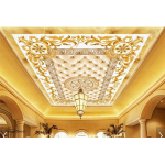 Gold Ceiling Mural