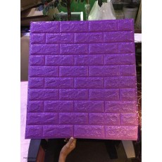 Purple Foam Sticker
