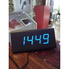 Blue Led Table Clock