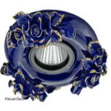 Blue Ceramic Downlight