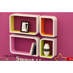 4 Set Cube shelves