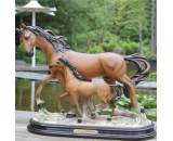 Resin Horse Statue