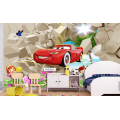 Cartoon Car Wall Mural