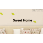 Sweet Home MDF Wall Stickers