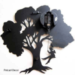 Acrylic Tree Wall Clock
