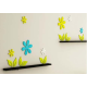 Flower Shaped Wall Sticker
