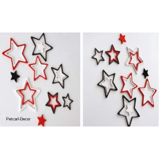Star Shaped Wall Stickers